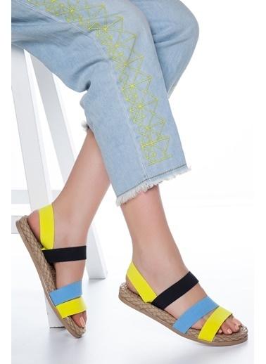 Mask Sandalet Sarı